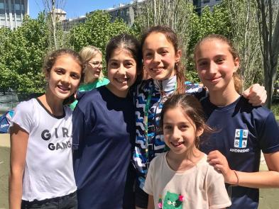 Las chicas de CUBA con Valentina Aguado