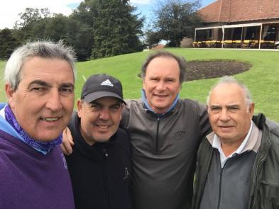 Gastón Gómez Nardo, Ramón Márquez, Gonzalo Córdoba y Alfredo Ledesma