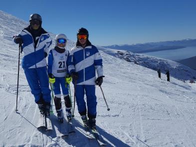 Franco, Chiara y Lucas Demaría