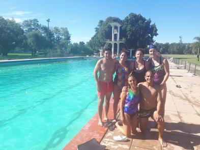 Los profes del Programa: José, Wanda, Usula, Gisella, Facundo y su coordinadora: Cinthia Dodero