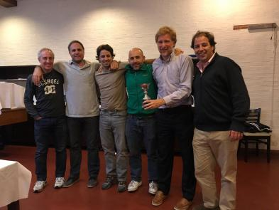 -Squash - Equipo  Interclub de 1era - Subcampeón Apertura-Clausura - G. Montelatichi, I. Wust, G. Garraham, M. Merello, H. Pizarro y F. Brea