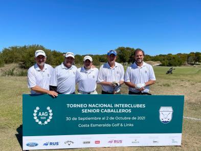 Equipo Senior CUBA en el Torneo Nacional Interclubes Senior