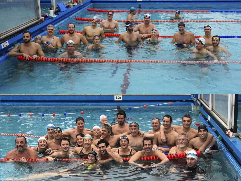 Participantes encuentro de Natación 8_8_21