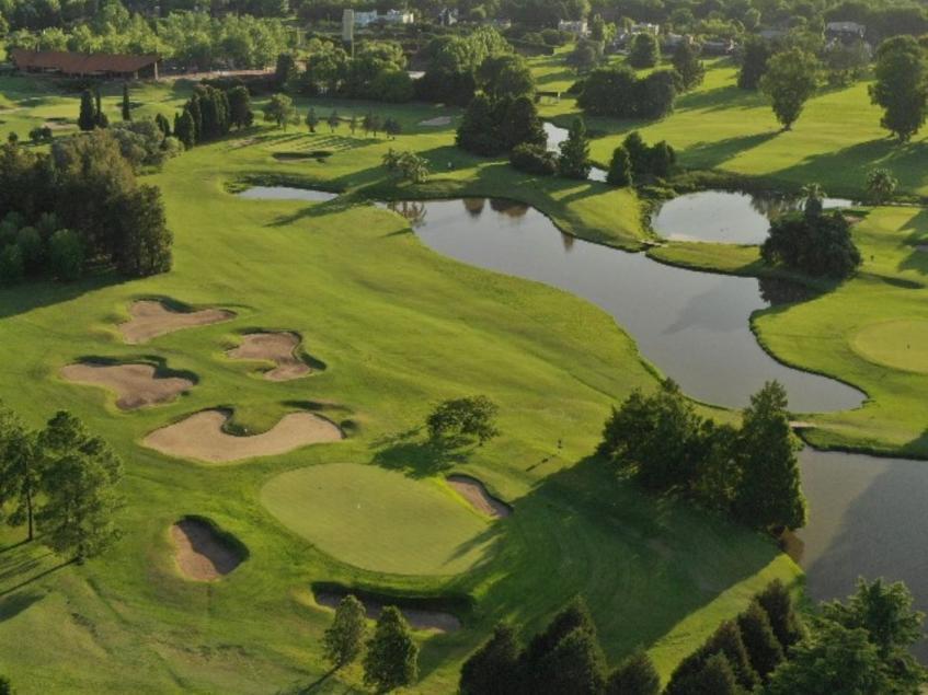 Vista aérea de cancha de golf Fátima CUBA